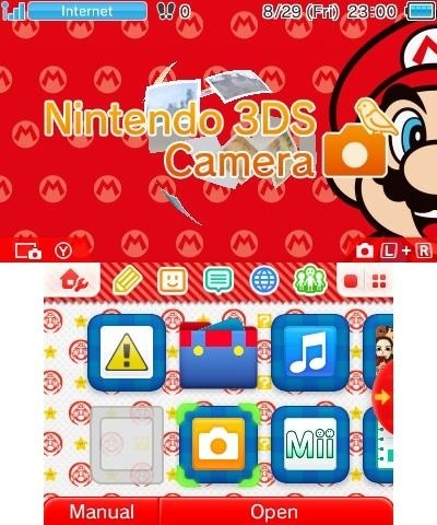 New Nintendo 3DS Theme