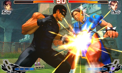 Super Street Fighter IV 3D Edition Fei vs Chun