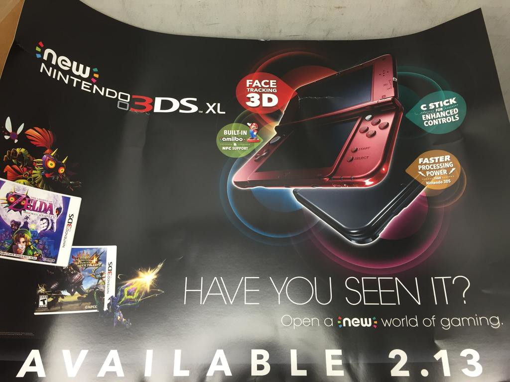 New Nintendo 3DS Poster