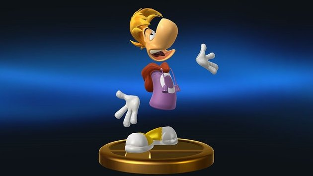Super Smash Bros. for WiiU & 3DS Rayman Trophy