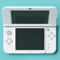 New Nintendo 3DS Pearl White Banner