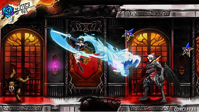Bloodstained Ritual of the Night Concept Art (Revised)