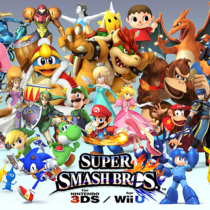 Super Smash Bros for WiiU & 3DS Collage